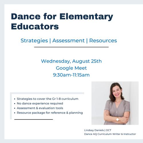 Dance for Elementary Educators
